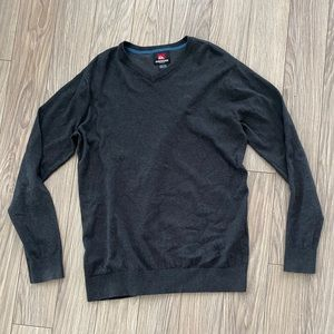 Quicksilver Grey Pull Over Sweater